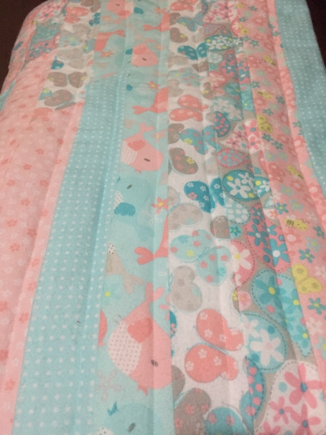 Jelly Roll Baby Quilt Kidd Kids