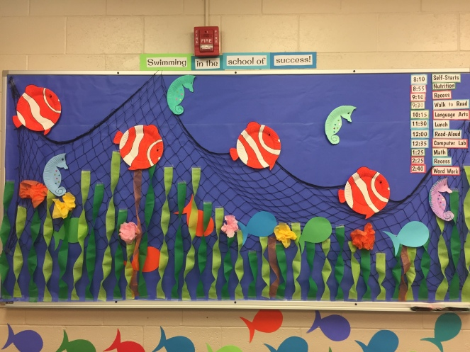 Under The Sea Classroom Decoration Ideas ~ Under the sea classroom reveal kidd kids